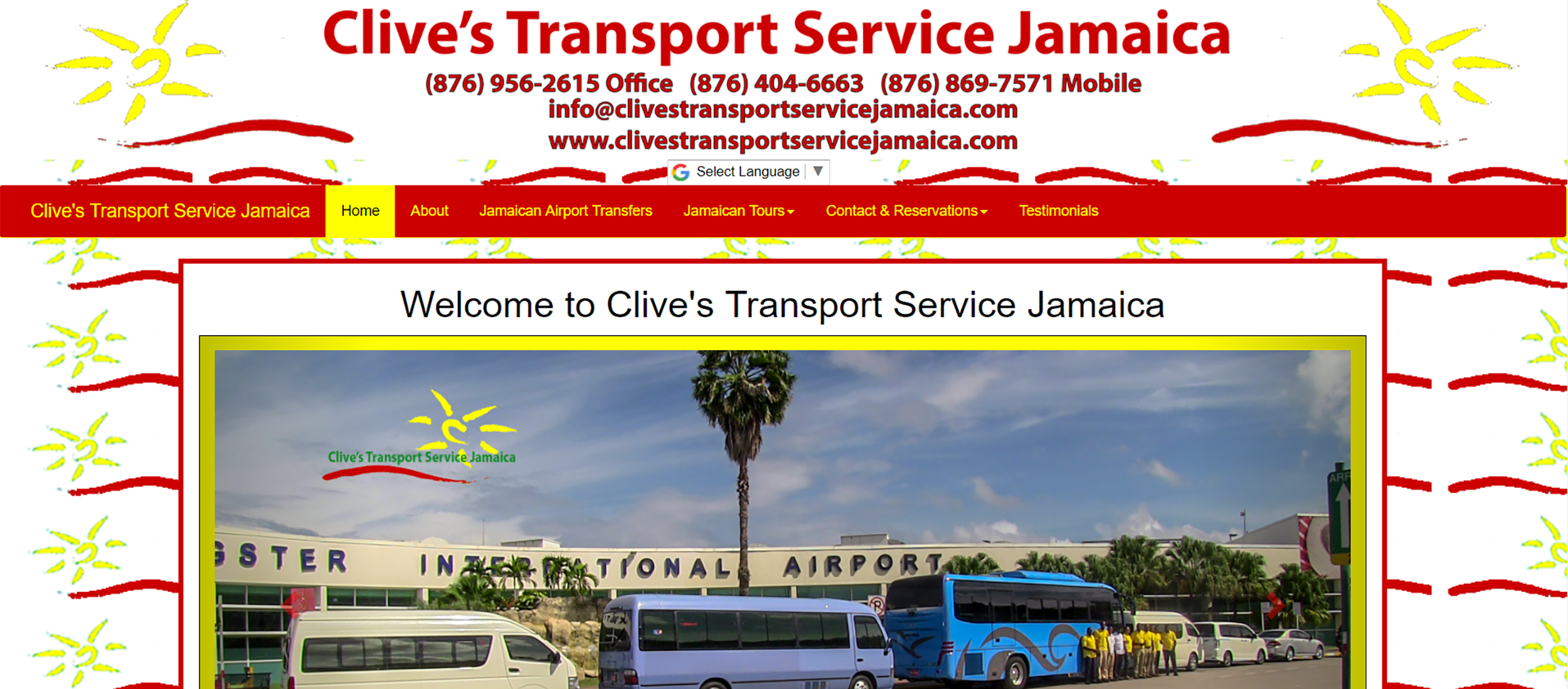 Clive's Transport Service Jamaica by Barry J. Hough Sr.