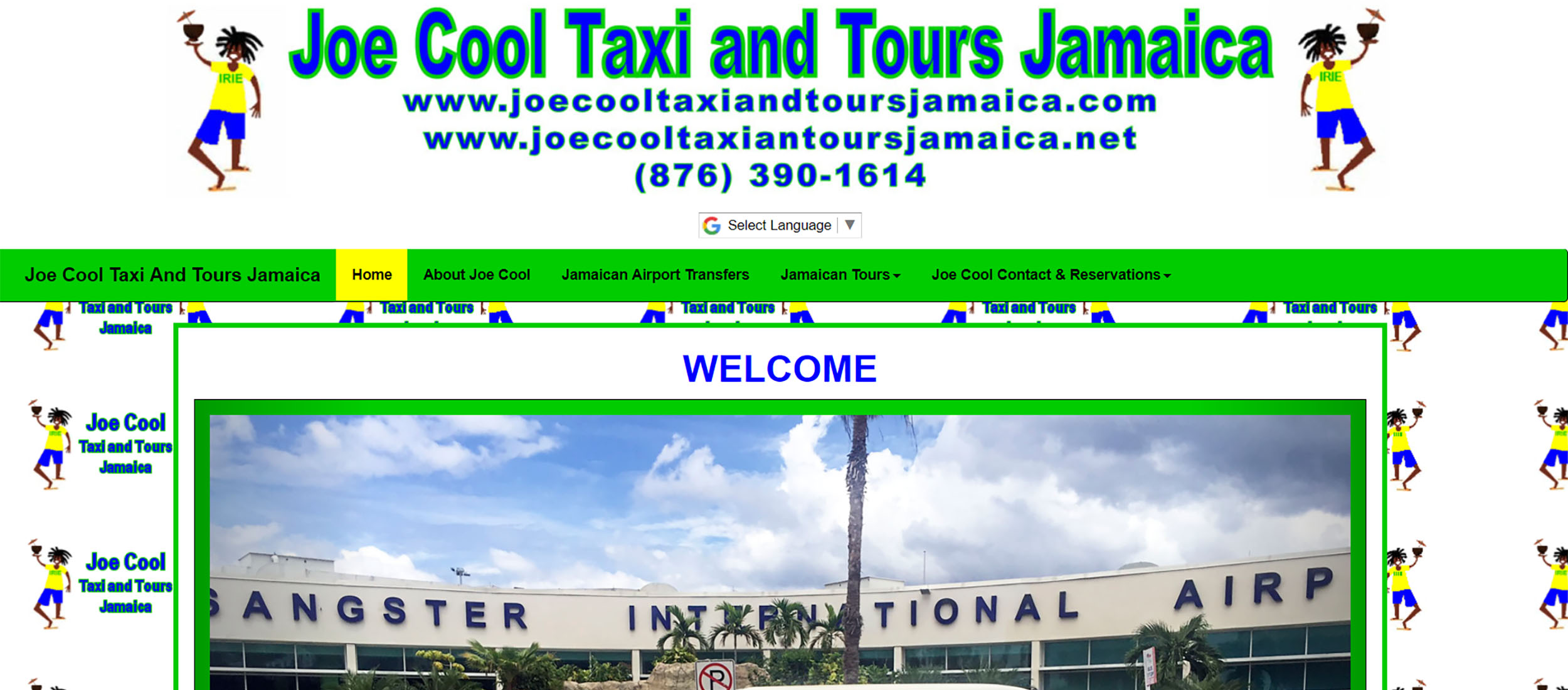 Joe Cool Taxi and Tours Jamaica by Barry J. Hough Sr.